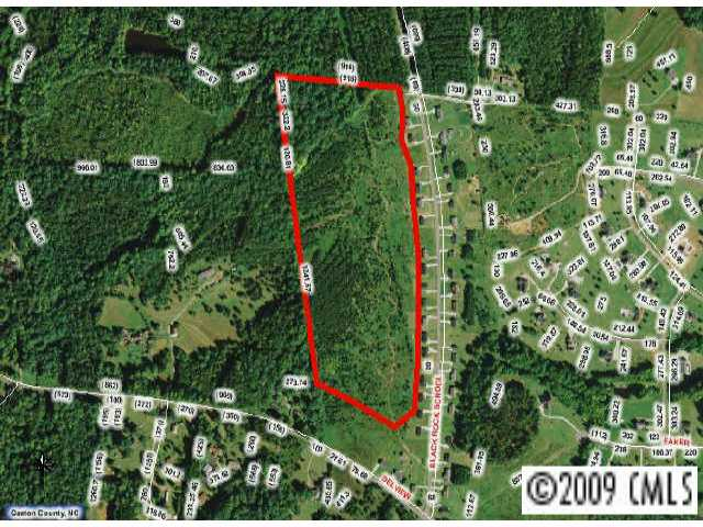 33.65 acres by Cherryville, North Carolina for sale