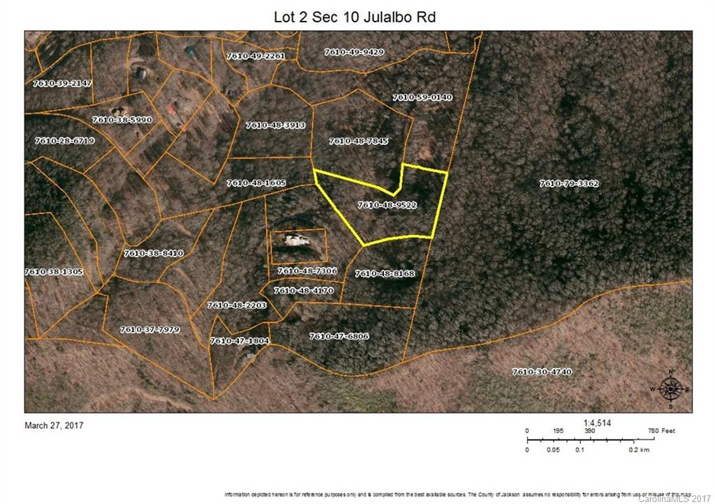 Lot 2 Section 10 Julalbo Road Whittier, NC 28789