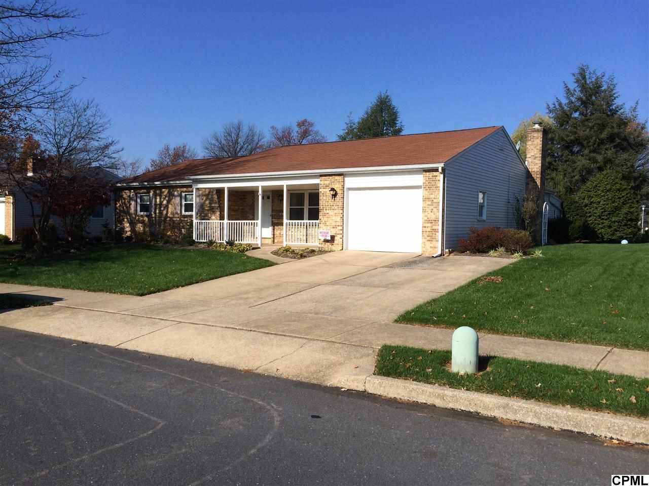 Rental Homes for Rent, ListingId:30634576, location: 605 Cocklin Mechanicsburg 17055