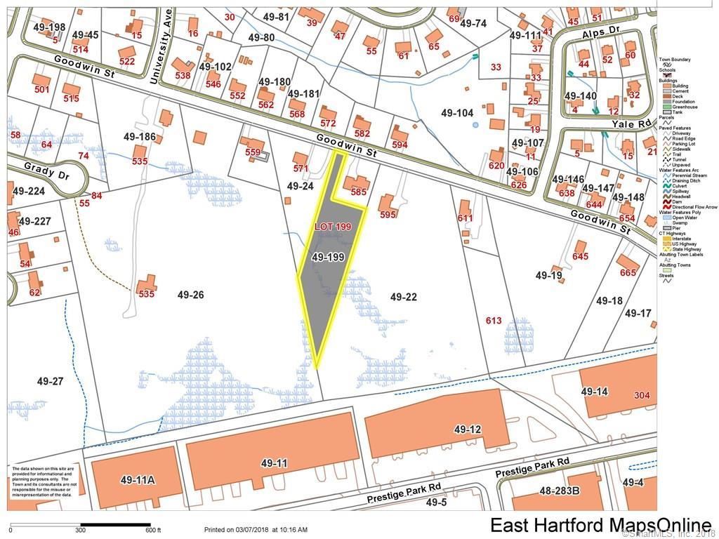 Lot# 199 Goodwin Street East Hartford, CT 06108