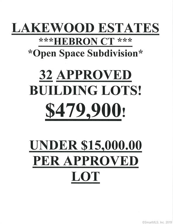 0 Hillcrest Dr- Lakewood Estates Hebron, CT 06248