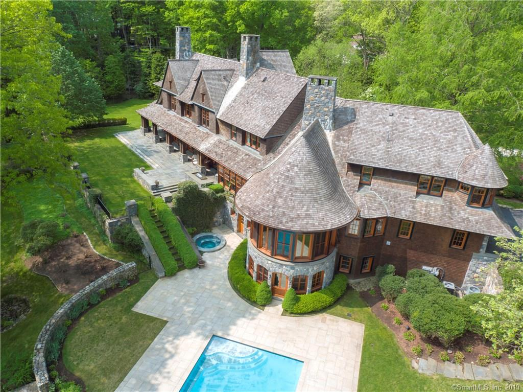 One of New Canaan 6 Bedroom Homes for Sale at 909 West Road