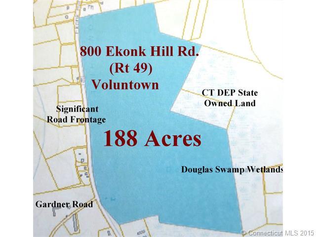 188 acres Voluntown, CT