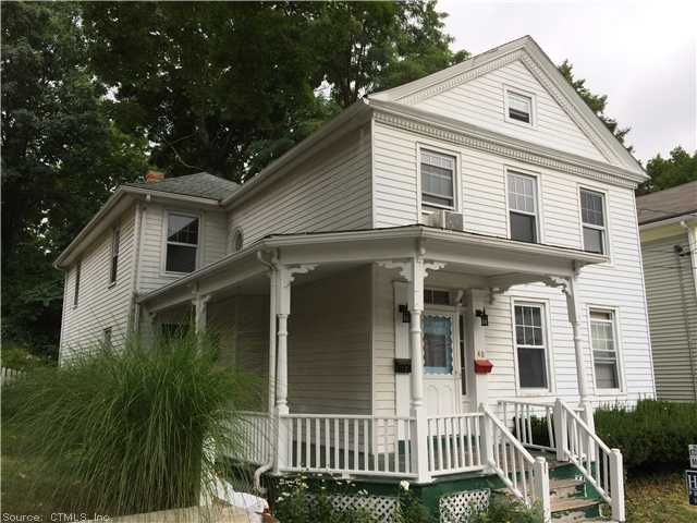 Rental Homes for Rent, ListingId:29941790, location: 48 OTIS ST Norwich 06360