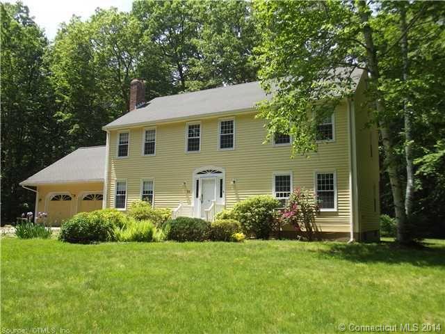 Real Estate for Sale, ListingId: 30820389, Hebron,CT06248