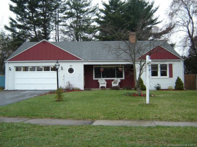 Rental Homes for Rent, ListingId:31144902, location: 63 King Philip Dr W Hartford 06117