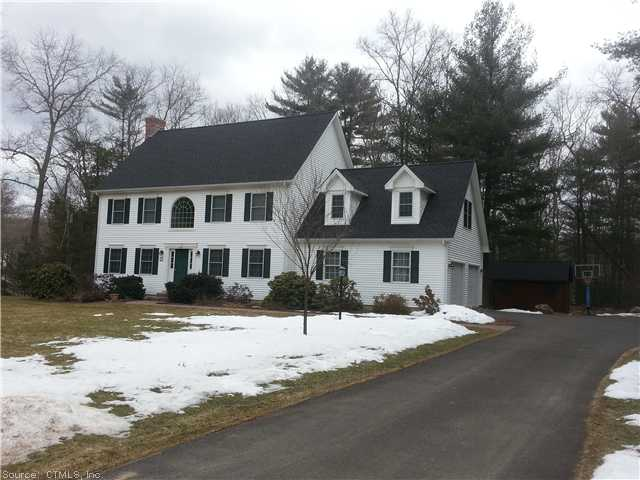 Dunn Rd, Coventry, CT 06238
