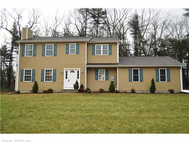 Real Estate for Sale, ListingId: 22935408, Stafford, CT  06075