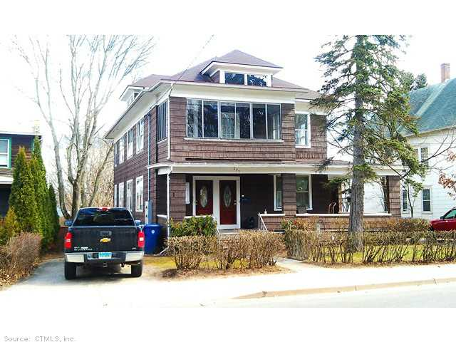 Rental Homes for Rent, ListingId:23038980, location: 295 JACKSON ST Willimantic 06226