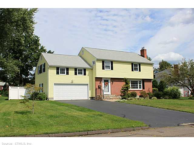 Rental Homes for Rent, ListingId:25625073, location: 47 OX YOKE DR Wethersfield 06109