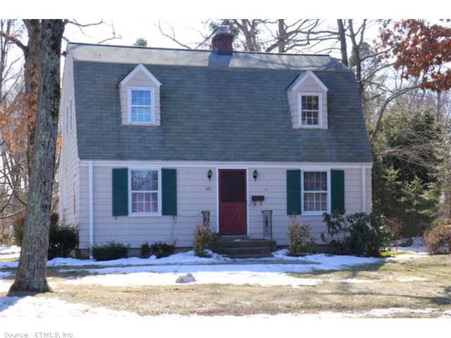 Rental Homes for Rent, ListingId:27280133, location: 483 CHAPEL RD South Windsor 06074