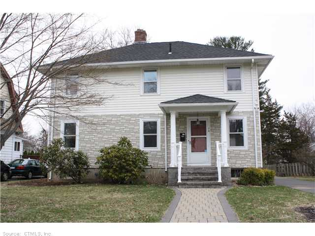 Rental Homes for Rent, ListingId:27619632, location: 70 BEVERLY RD West Hartford 06119