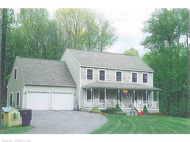 Real Estate for Sale, ListingId: 28768774, Willington, CT  06279