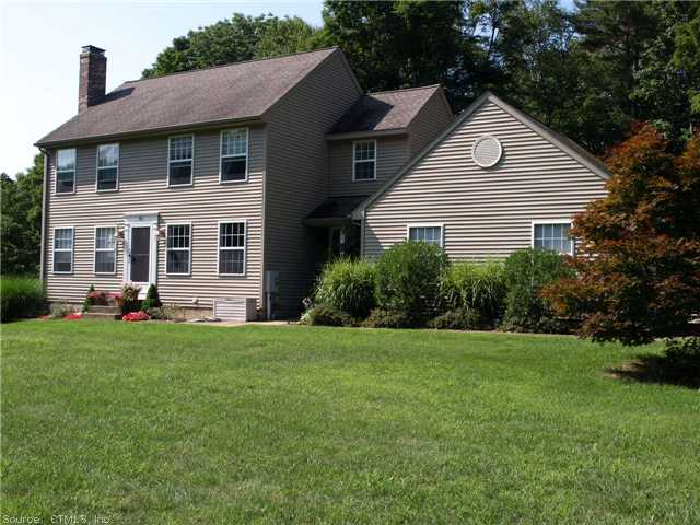 Real Estate for Sale, ListingId: 29281824, Willington, CT  06279