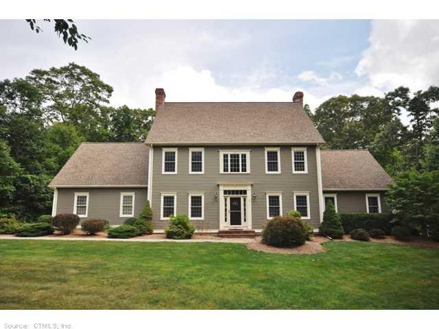 Real Estate for Sale, ListingId: 29526999, Hebron,CT06248