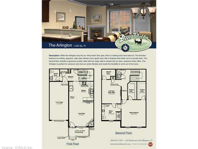 Rental Homes for Rent, ListingId:29634770, location: 160 WINDERMERE Ellington 06029