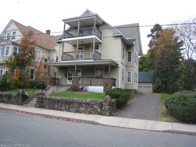 Rental Homes for Rent, ListingId:27265677, location: 46 PARK AVENUE Meriden 06450