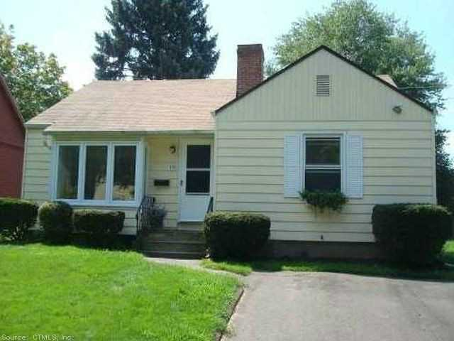 Rental Homes for Rent, ListingId:28994955, location: 19 HUBER AVE Meriden 06450