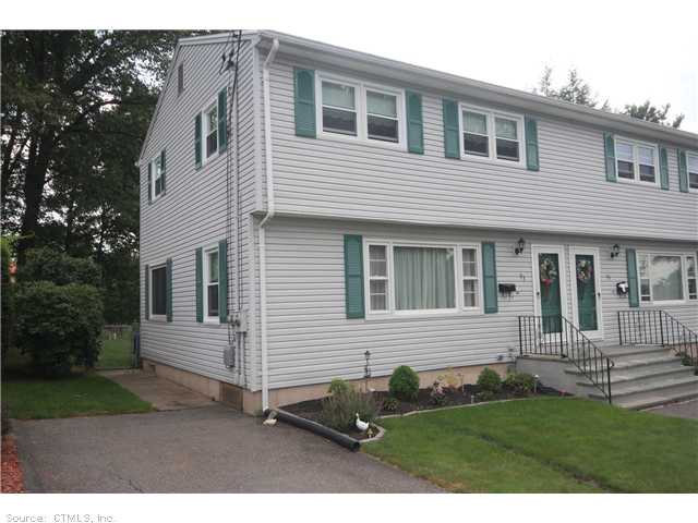 Rental Homes for Rent, ListingId:29542698, location: 93 CHERYL DR Waterbury 06708