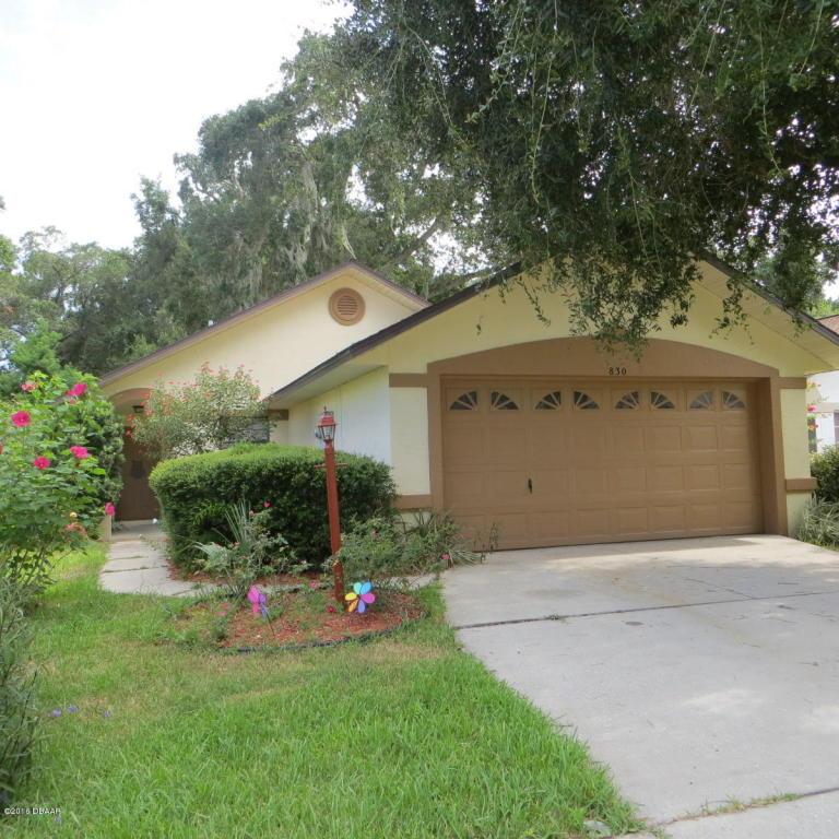 830 Lakeland Dr, Port Orange, FL 32127