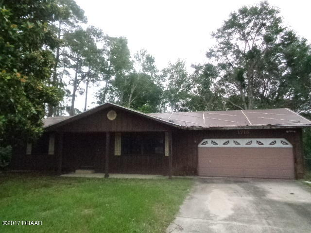 Photo of 1715 Sabal Palm Drive  Edgewater  FL