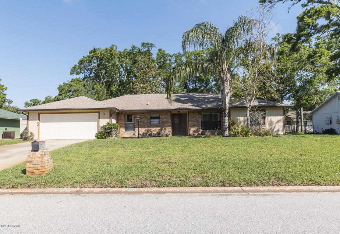 3 Heather Lane, Ormond Beach in Volusia County, FL 32174 Home for Sale
