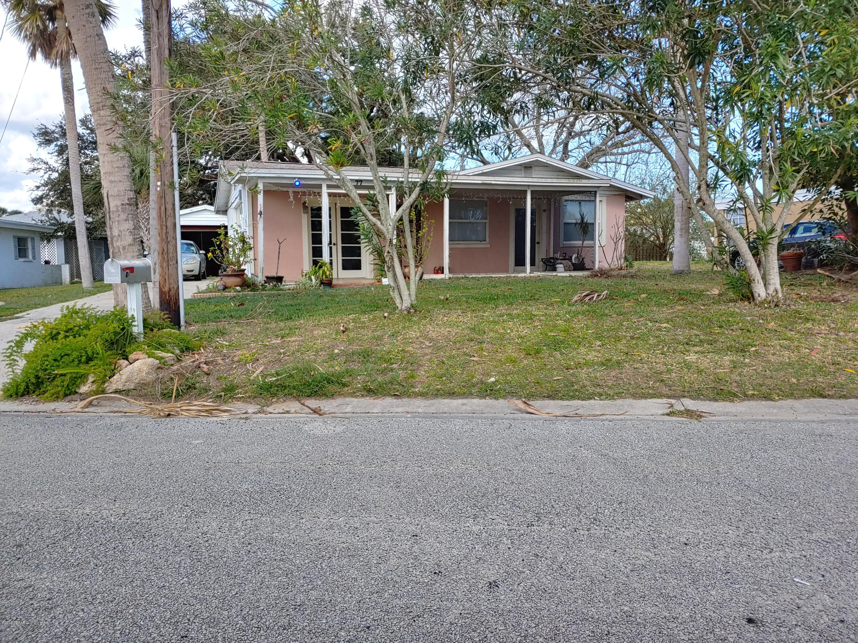 77 BROOKS Drive, Ormond-By-The-Sea in Volusia County, FL 32176 Home for Sale