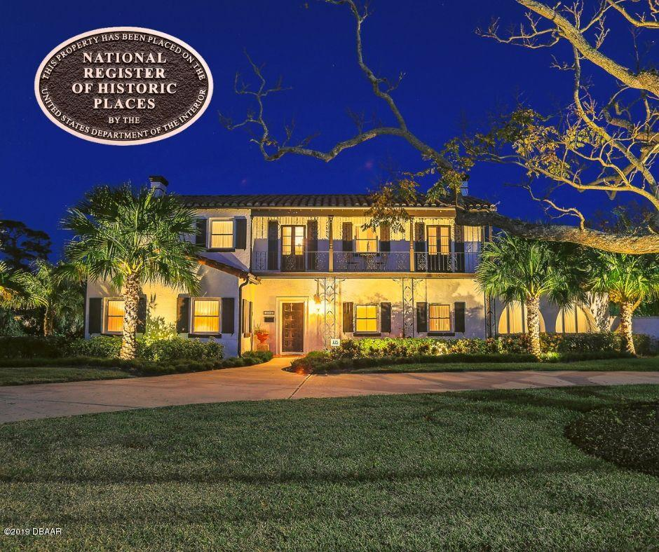 One of Daytona Beach Shores 4 Bedroom Homes for Sale at 1604 N Halifax Avenue