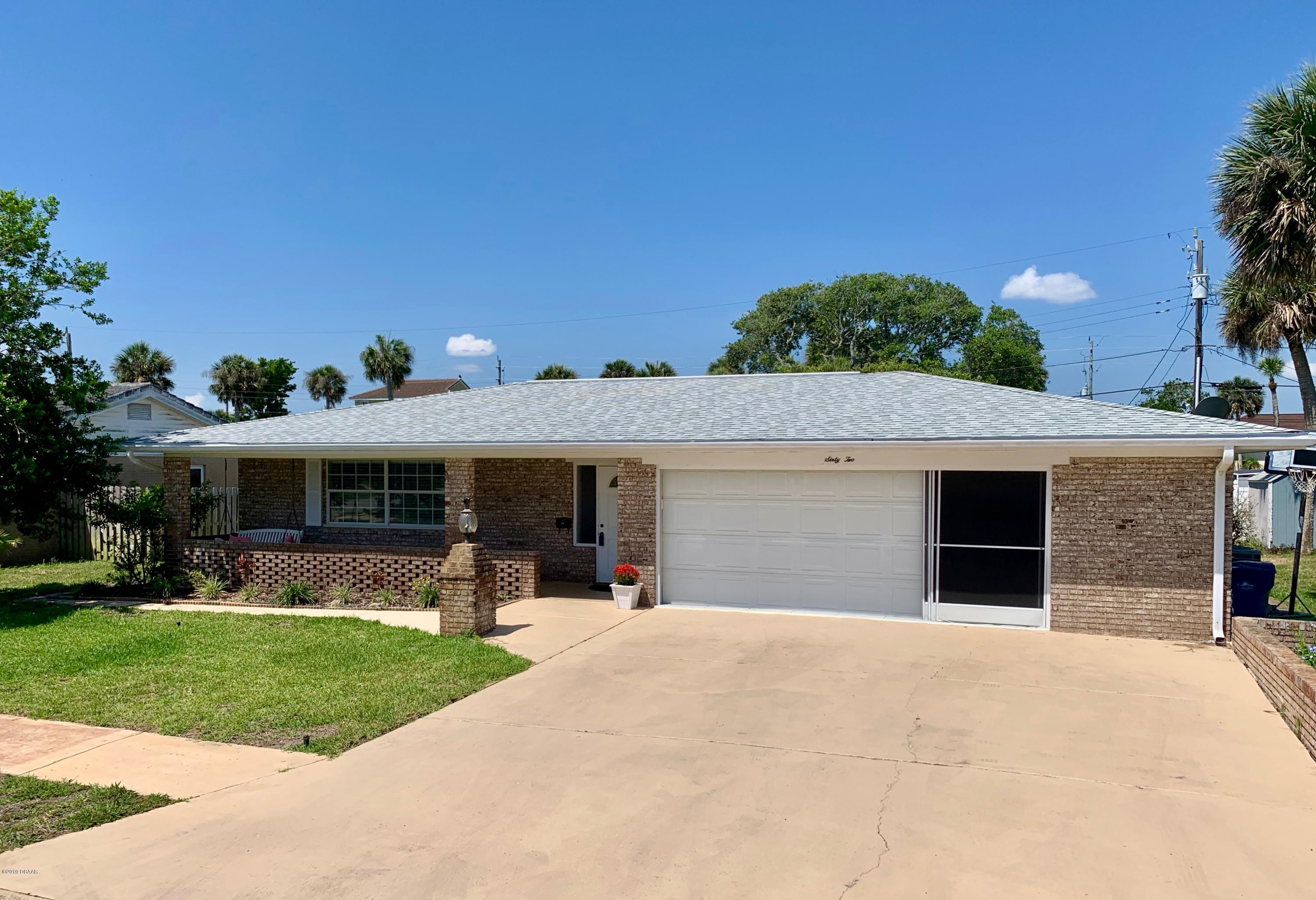 62 Oakview Circle, Ormond-By-The-Sea in Volusia County, FL 32176 Home for Sale