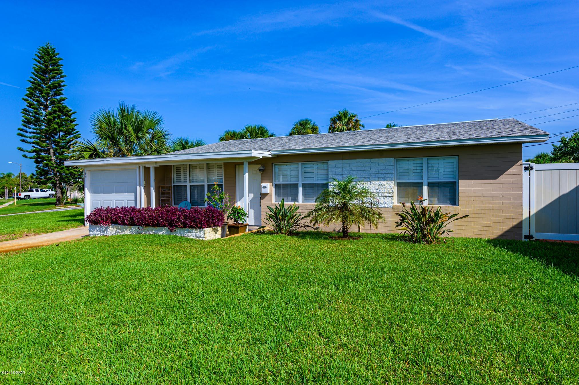 22 Tropical Drive, Ormond-By-The-Sea in Volusia County, FL 32176 Home for Sale