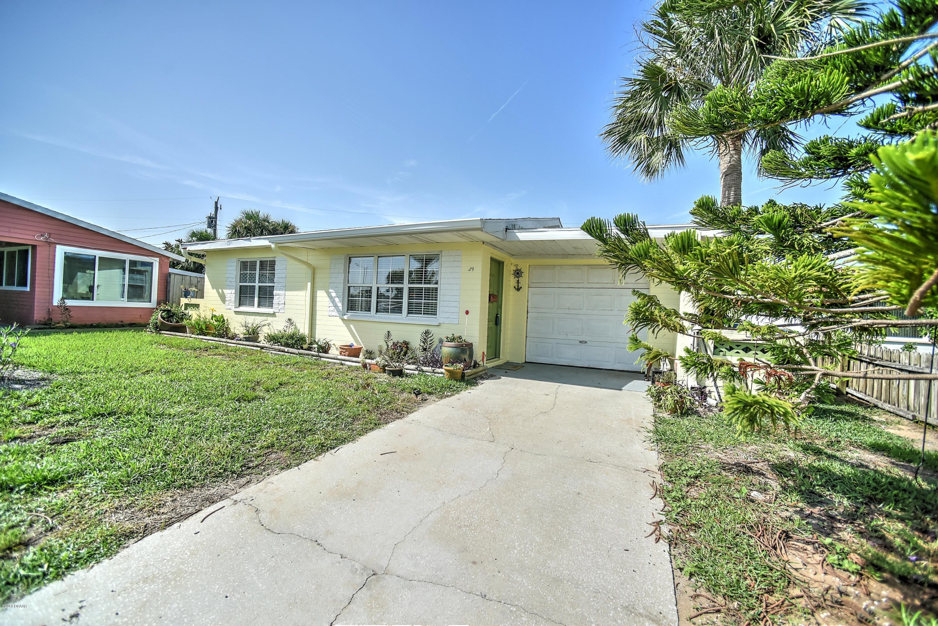 39 Tropical Drive, Ormond-By-The-Sea in Volusia County, FL 32176 Home for Sale