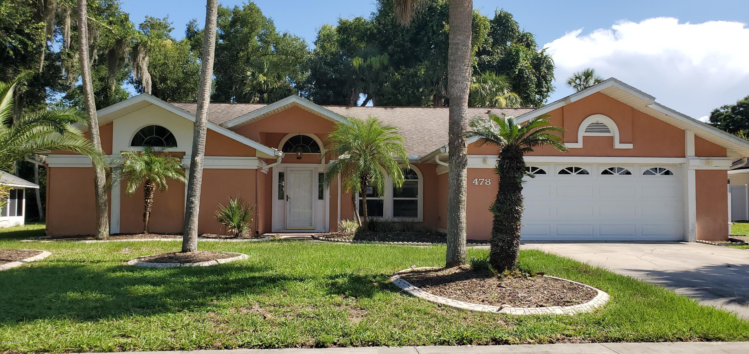 One of Ponce Inlet 3 Bedroom Homes for Sale at 478 Oakland Park Boulevard