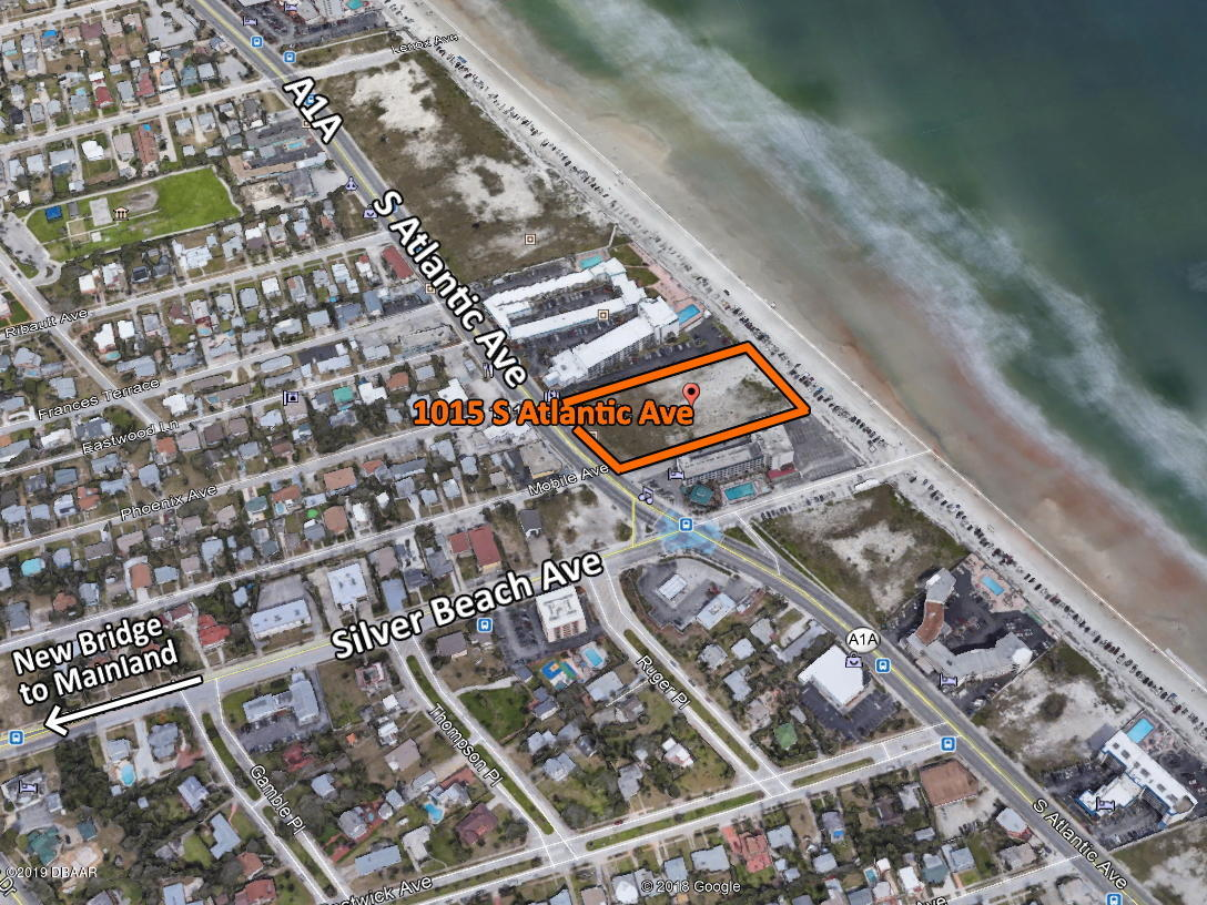 1015 S Atlantic Ave, Daytona Beach Shores, Florida 0 Bedroom as one of Homes & Land Real Estate