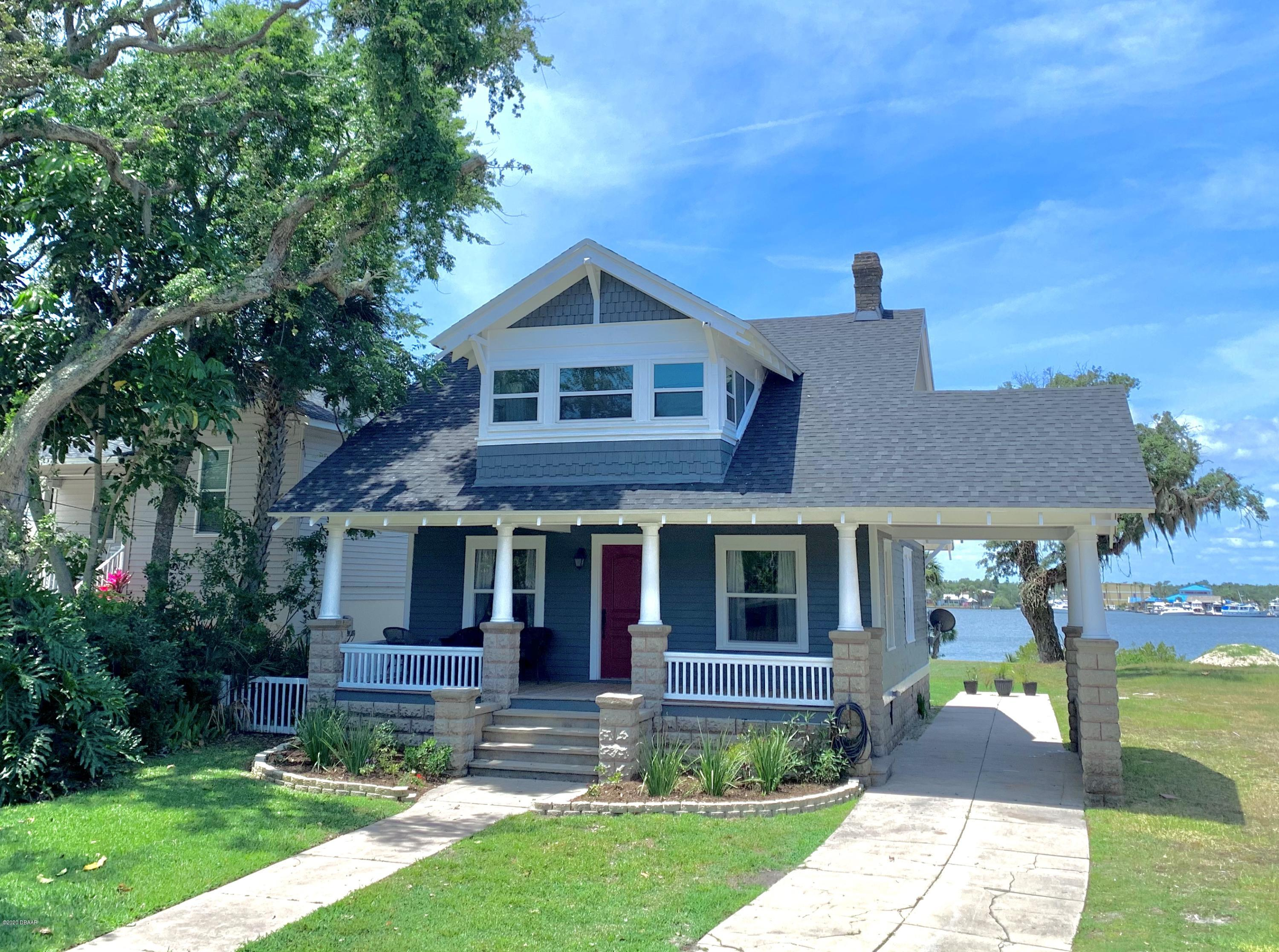 One of Daytona Beach Shores 3 Bedroom Homes for Sale at 219 N Halifax Avenue