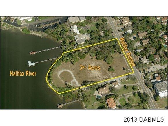Land for Sale, ListingId:18952975, location: 801 N Halifax Avenue Daytona Beach 32118