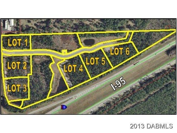 Land for Sale, ListingId:20340320, location: 0 Sr 44 & I-95 New Smyrna Beach 32168