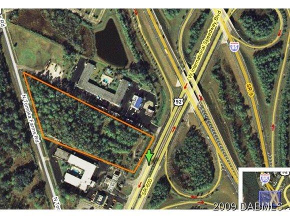 Land for Sale, ListingId:20340332, location: 2940 International Speedway Blvd W Daytona Beach 32114