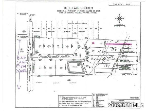 Land for Sale, ListingId:20341466, location: 263 N Blue Lake Avenue Deland 32724