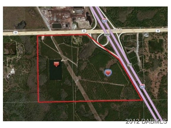 Land for Sale, ListingId:20340606, location: 2988 State Road 44 New Smyrna Beach 32168