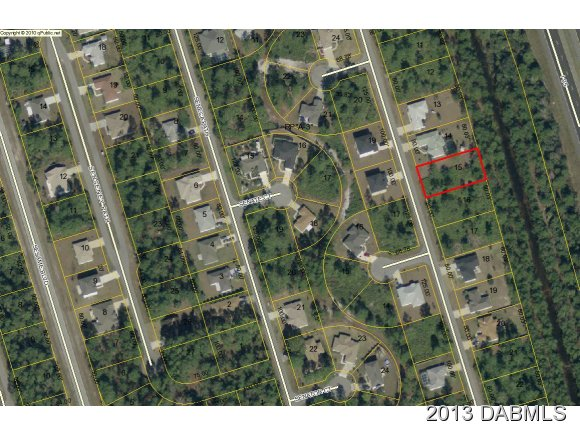 Land for Sale, ListingId:22164136, location: 35 Sentinel Trail Palm Coast 32164