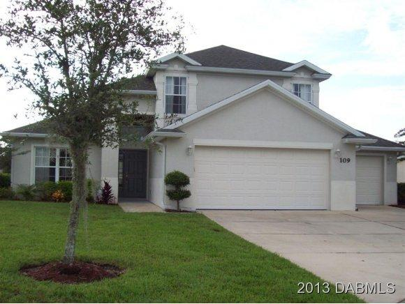 Rental Homes for Rent, ListingId:31253318, location: 109 Wedge Circle Daytona Beach 32124