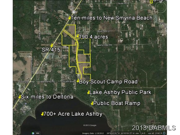 Land for Sale, ListingId:25628188, location: 0 Tomoka Farms Road New Smyrna Beach 32168