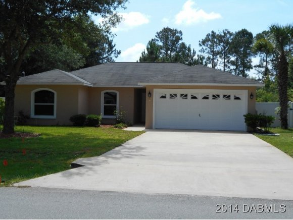Rental Homes for Rent, ListingId:28473370, location: 121 Whippoorwill Dr Palm Coast 32164