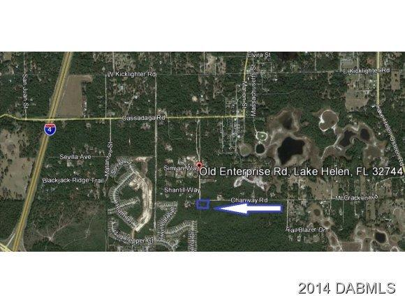 Land for Sale, ListingId:29654628, location: 0 Lake Vista Paper Ave Deltona 32725