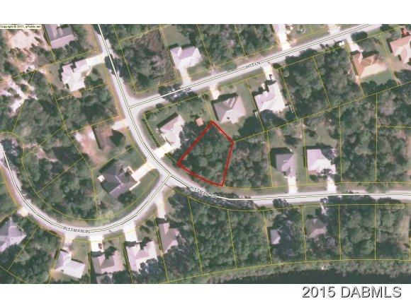 Land for Sale, ListingId:31620956, location: 11 Pittman Drive Palm Coast 32164
