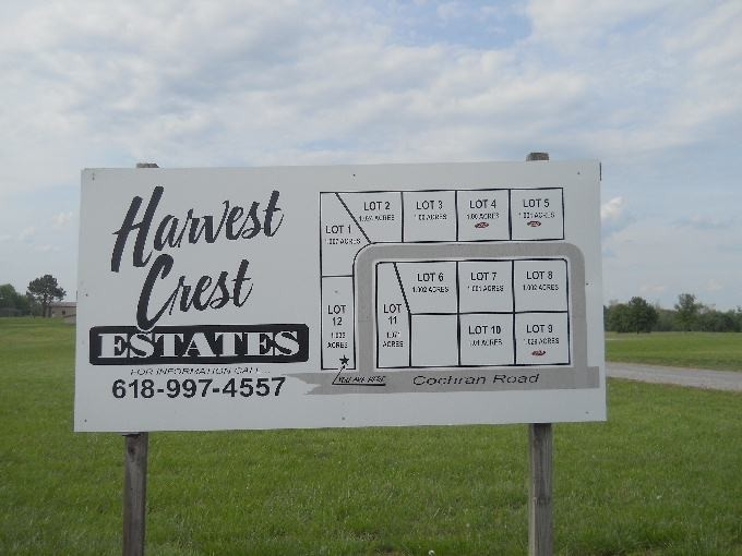 1.03 acres by Marion, Illinois for sale