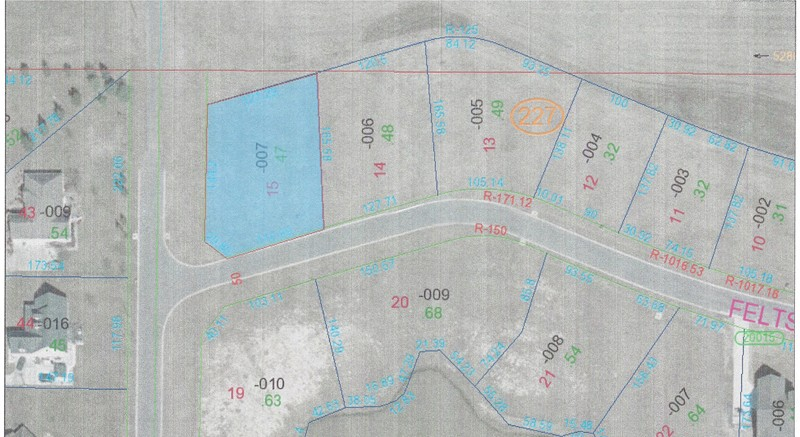 0.47 acres by Marion, Illinois for sale