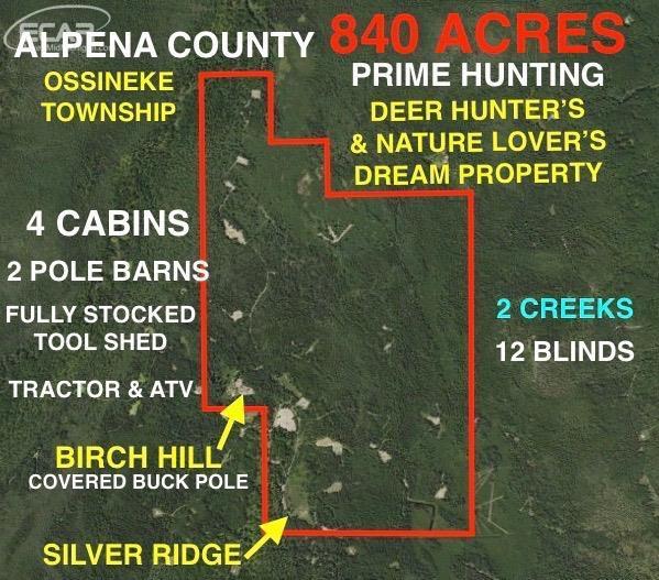 Real Estate for Sale, ListingId: 33280058, Hubbard Lake,MI49747