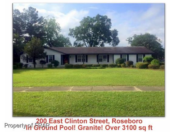 Photo of 200 E CLINTON STREET  Roseboro  NC