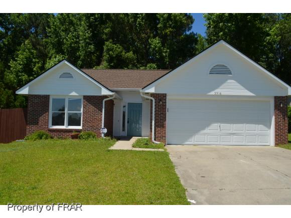 5916 LIVELY CT, Fayetteville in Cumberland County, NC 28306 Home for Sale